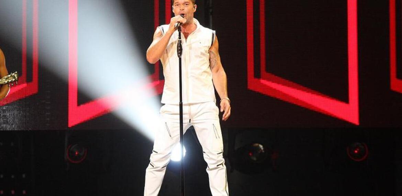Imagen de La espera terminó. Ricky Martin llega a Rosario